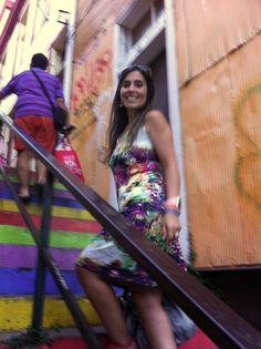 Val-paraíso... mi puerto bello: Escaleras de Valparaíso