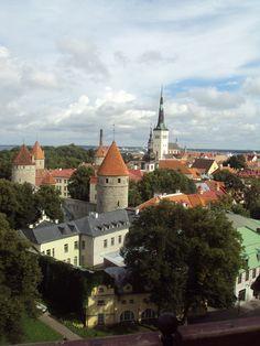 Talinn, Estonia. A memorable vacation this was!