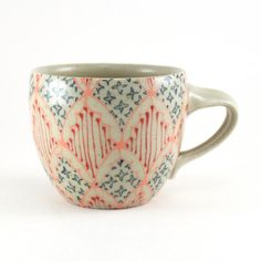 Espresso Cup  Ceramic Mug  Cup with Bright by dawndishawceramics, $28.00