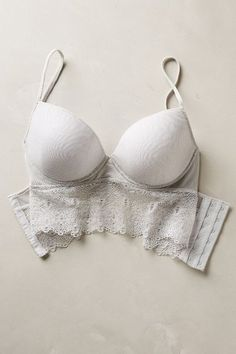 Touche Flore Long-Line Bra - #anthrofave