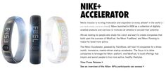 Nike is the latest to jump into tech incubation with its Nike+ Accelerator, for helping the latest health-related startups. The program, organized by TechStars, focuses on startups in areas such as training, coaching, gaming, data visualization and the quantified self.