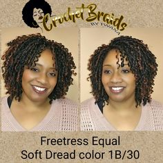 Whether it's parted down the middle or off to the side, Soft Dread is great option for anyone new to Crochet Braids. Very little maintenance (just oil sheen 2-3 times per week). These spiral curls lasts up to 2 months. Great option for working out and vacation. #softdread #crochetbraids #crochetbraidsbytwana #spiralcurls #protectivestyles #vacrochetbraids #dmvcrochetbraids www.crochetbraidsbytwana.com Curly Crochet Hair Styles, Crochet Braids Hairstyles, Braided Hairstyles, Curly Hair Styles, Natural Hair Styles, Black Girl Braids, Girls Braids, Soft Dreads, Crochets Braids