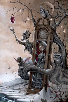 Steampunk Tendencies | Anthony Clarkson - Time in Frozen