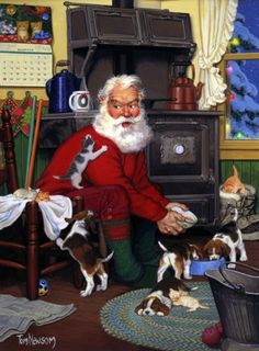 Tom Newsom - Santa and Friends