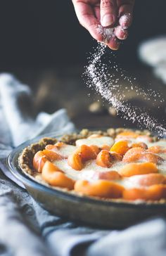 Apricot Custard Pie with Cardamom Crumble Crust (Gluten-Free) | The Bojon Gourmet