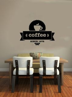 Cup of Coffee Smoke Stamp Logo Emblem Sign Wall Vinyl Decals Art Sticker Home Modern Stylish Interior Decor for Any Room Smooth and Flat Surfaces Housewares Murals Design Graphic Cafe Dining Room Kitchen Coffee Shop (4695) stickergraphics http://www.amazon.com/dp/B00IRJ9C7I/ref=cm_sw_r_pi_dp_FkWUtb1X9BQMSKTM