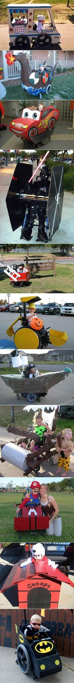 Awesome wheelchairs.