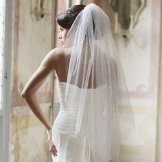 Voile mariée Adèle plumetis 39€ instant precieux