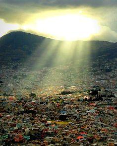 Linda toma de la ciudad de #Quito