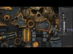 캐릭터 제작 작성 유튜브 영상 리스트_Warmachine Tactics - Character Pipeline - YouTube