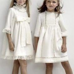 310f83a6ef779 Patrón Vestido imperio para niña Smocking