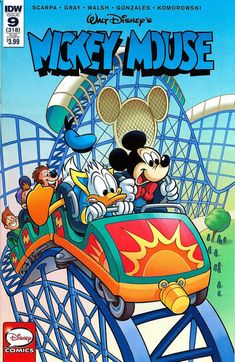 Cover for Mickey Mouse (IDW, 2015 series) #9 / 318 [Regular Cover]
