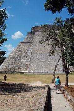 First look -- Pyramid of the Magician, Uxmal, Yucatan, Mexico