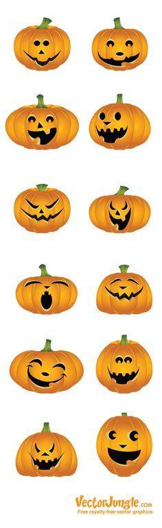 Calabazas para Halloween.