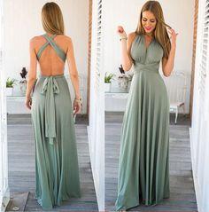 Long dress transformer, infinity dress, boho dress, bridesmaid dress, evening…