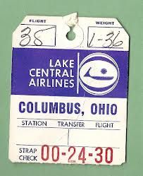 Ohio, Bag Tag, West Lake, Early American, Lakes, Empire, Southern, Columbus Ohio, Ponds