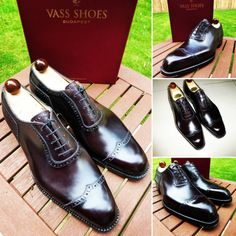 http://chicerman.com  ascotshoes:  The Vass Vtip in our deep luscious Oxblood calf its so versatile you can wear this as Black calf from the distance with a grey black or navy suit. Weekends you can blend this with a pair of lighter blue jeans and the Oxblood calf exposes the sprinkle of redness in the sunshine. - All Vass Shoes are individually hand stitched using the finest grade A calf leather from our French tannery. Most of the Vass shoes on our instagram feed are client MTO?S (Made To…