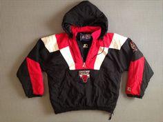 chicago bulls starter jackets | 1990's, Chicago Bulls Starter jacket, size Medium