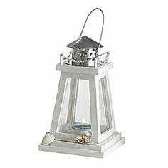 Lighthouse Tealight Holder I LOVE IT - IT'S SOOO CUTE.