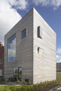 Home 2.0, Almere, 2013 - 70F architecture #wood #facade #box