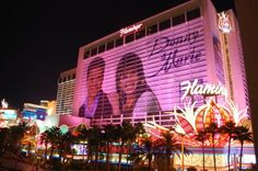 No homage to Las Vegas would be complete without a shot of the Flamingo, my performing home for so many years.