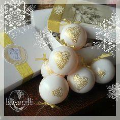 lillivanilli / Vianočné bielo - zlaté