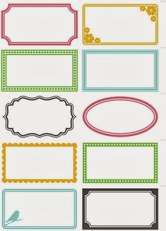 6 Best Images of Printable Labels For Organizing Bathroom - Free Printable Blank Labels, Free Printable Bathroom Labels and Free Printable Blank Label Templates Printable Labels, Printable Planner, Planner Stickers, Free Printables, Labels Free, Blank Labels, Jar Labels, Organizing Labels, Label Templates