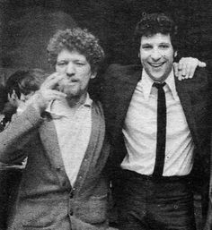 Tom Jones & Luke Kelly, Dublin, by Peter O'Broin Great Pictures, Old Pictures, Lemmy Motorhead, Ireland Homes, Fifth Generation, Dublin City, My Music, Famous People, Irish