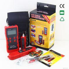 (78.18$)  Watch here  - NF-868 digital Cable Tester Tracker for RJ45, RJ11 Anti-jamming crosstalk/ short-circuit/Lenth tester