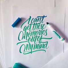 Use @PicLab app to add similar artwork and typography to your photos! #PicLabHD features the ability to import your own .pngs into your photos. -- Crayola & Brushpen Lettering Inspiration