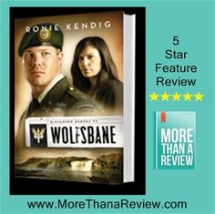 Ronie Kendig is one of my favorite authors.  She has this series; Discarded Heros and the working military dog series!  See all my reviews at More Than a Review.