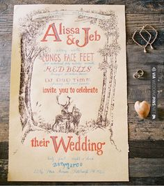 Love this! - A wedding invite with old-timey appeal. | CHECK OUT MORE IDEAS AT WEDDINGPINS.NET | #weddings #rustic #rusticwedding #rusticweddings #weddingplanning #coolideas #events #forweddings #vintage #romance #beauty #planners #weddingdecor #vintagewedding #eventplanners #weddingornaments #weddingcake #brides #grooms #weddinginvitations