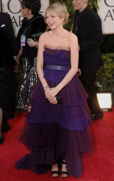 Pin for Later: The 64 Most Glamorous Gowns to Ever Hit the Golden Globes  Michelle Williams in 2006.