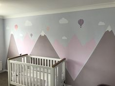 Für die Außenwand Spielplatz Toddler Craft Ideas - Fun Ideas to Have a Blast With Your Baby! Baby Girl Room Decor, Baby Boy Rooms, Little Girl Rooms, Girl Bedroom Walls, Baby Bedroom, Bedroom Decor, Deco Kids, Room Wall Painting, Nursery Design