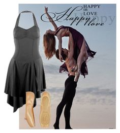 """Happiness"" by dancing-inthe-street ❤ liked on Polyvore featuring Bloch, modern, women's clothing, women, female, woman, misses and juniors"
