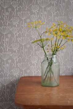 Tussock patterned paint roller using Annie Sloan paints