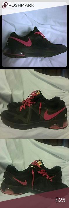 Women's NIKE Air Max Run Lite 5 Black & Pink #631664-002 Nike Shoes Sneakers