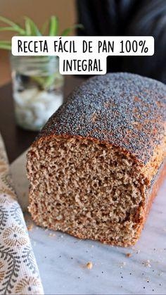 Fall Recipes, Real Food Recipes, Vegan Recipes, Cooking Recipes, Yummy Food, Yeast Bread Recipes, Artisan Bread, Healthy Baking, Food Videos