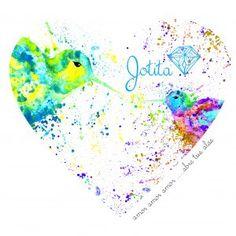 corazon colibries pareja amor amor  abre tus alas indumentaria BY MARÍA JORGELINA GARRO   INLUSTRACIÓN ACUARELAS