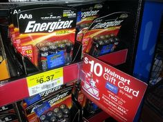 Energizer and Duracell Batteries: As Low as $.37 A Pack At Walmart!