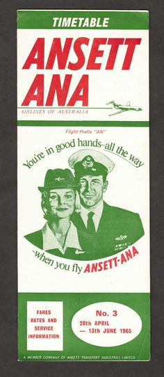 VINTAGE AIRLINE TIMETABLES | AIRLINES OF THE PAST | 1950s 1960s 1970s 1980s