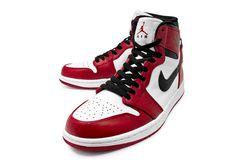 Air Jordan I White/Black-Red 2013