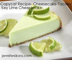 Copycat Cheesecake Factory Key Lime Pie Cheesecake | AllFreeCopycatRecipes.com