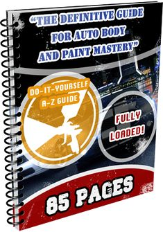 How To Paint a Car - Learn Auto Body And Paint from Home. DIY auto body and paint training. Learn complete paint jobs, rust repair, custom work and more! Truck Repair, Auto Body Repair, Car Body Repairs, The Body Book, Lowrider Art, Stuff For Free, Classic Car Restoration, Course Offering, Diy Car