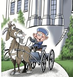 Old Whiskers Escapes! {A President Benjamin Harrison Adventure}