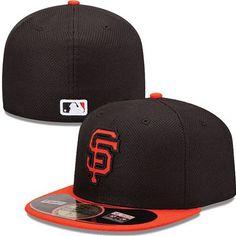 San Francisco Giants New Era MLB Diamond Tech 5950 Fitted Hat (Black) New  Era 936a1e6e894