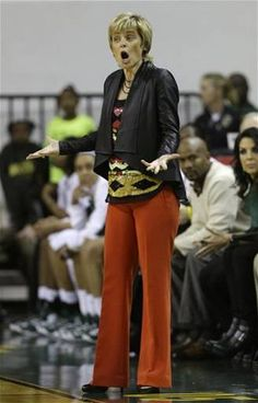 Womens Baylor Basketball Coach Kim Mulkey