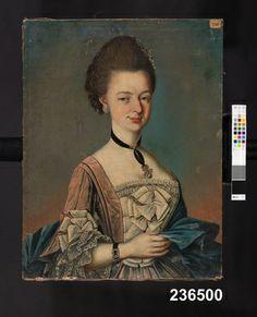 Digitalt Museum - Tavla, 1757, Nordiska Museet, NM.0236500
