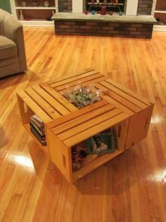 Hobby lobby sells these crates for cheap.