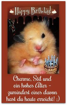 Happy Birthday! Charme, Stil und ein hohes Alter #alles_gute_zum_geburtstag…